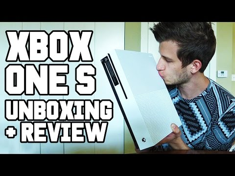 XBOX ONE S UNBOXING AND REVIEW!! Xbox One Slim 4K, Setup, Controller, XB1S vs XB1, XB1S vs PS4