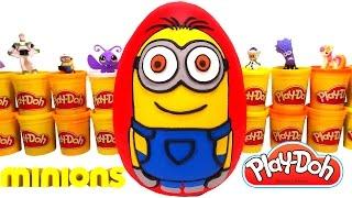 Minion (Minyonlar) Dev Sürpriz Yumurta Oyun Hamuru - Minion Oyuncakları, LPS, MLP