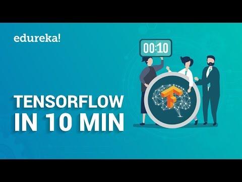 TensorFlow In 10 Minutes   TensorFlow Tutorial For Beginners   Deep Learning & TensorFlow   Edureka