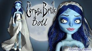 Corpse Bride inspired Doll - Repaint Tutorial