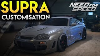 SUPRA CUSTOMIZATION - Road to Need For Speed Payback (NFS 2015 Gameplay PC)