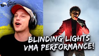 The Weeknd - Blinding Lights VMA PERFORMANCE - REACTION!!!