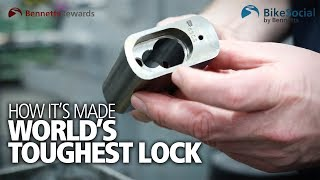 How the world's strongest production padlock is made in Britain