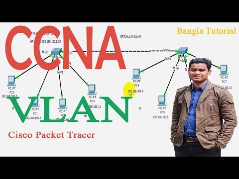 VLAN Configuration Bangla Tutorial (A-Z) |  Switching basic concept and VLAN configuration in Bangla