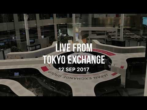 Live From Tokyo Stock Exchange