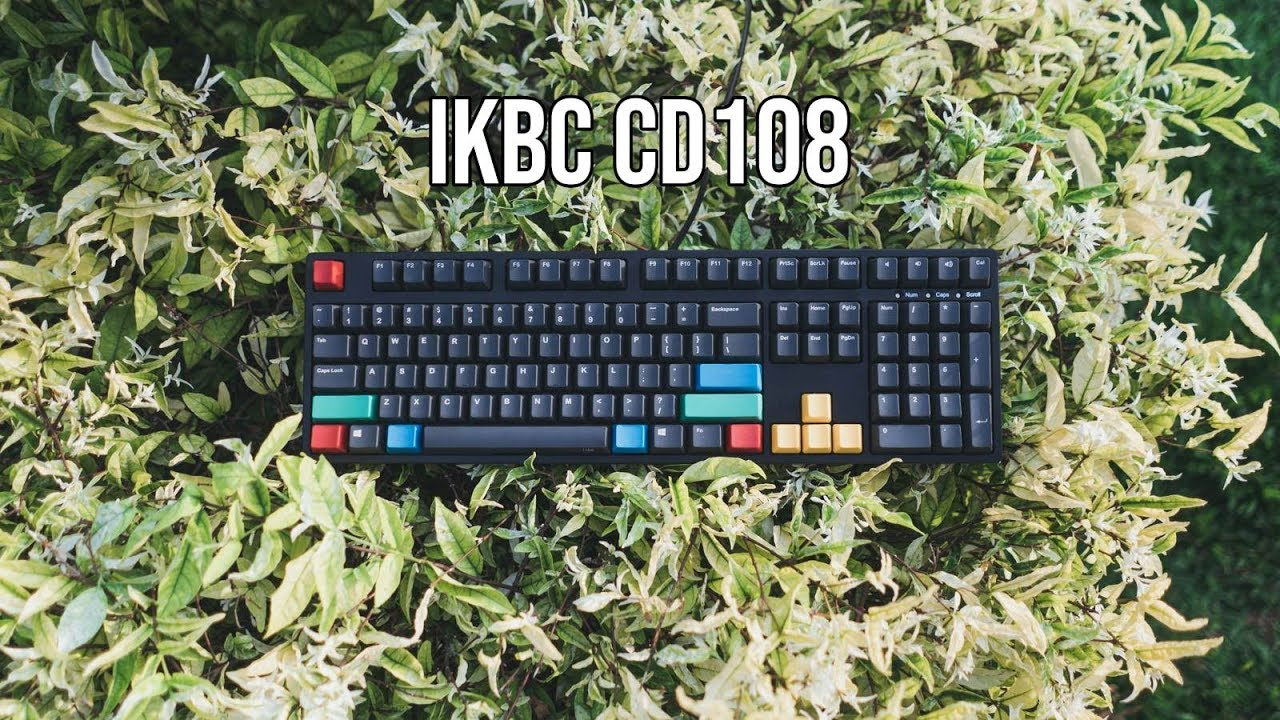 IKBC CD108 Review | Full Size Cherry MX Mechnical Keyboard