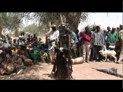 African art: The performance of a Mossi Bagba Diviner 2010