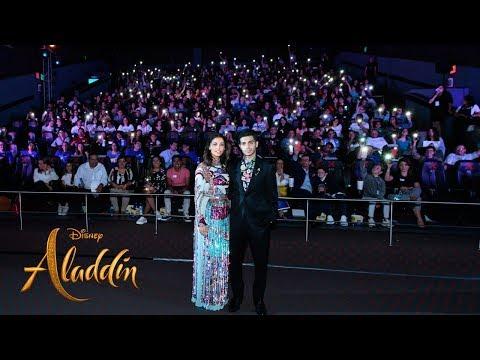 Aladdín: Mexico Fan Event con Naomi Scott & Mena Massoud