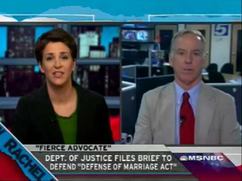 """Why is Obama Defending the """"Defense of Marriage Act""""?"""