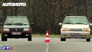 Défi spécial années 80 : Peugeot 205 GTI vs Renault Super 5 GT Turbo
