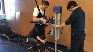 Robert Wickens begins walking rehabilitation
