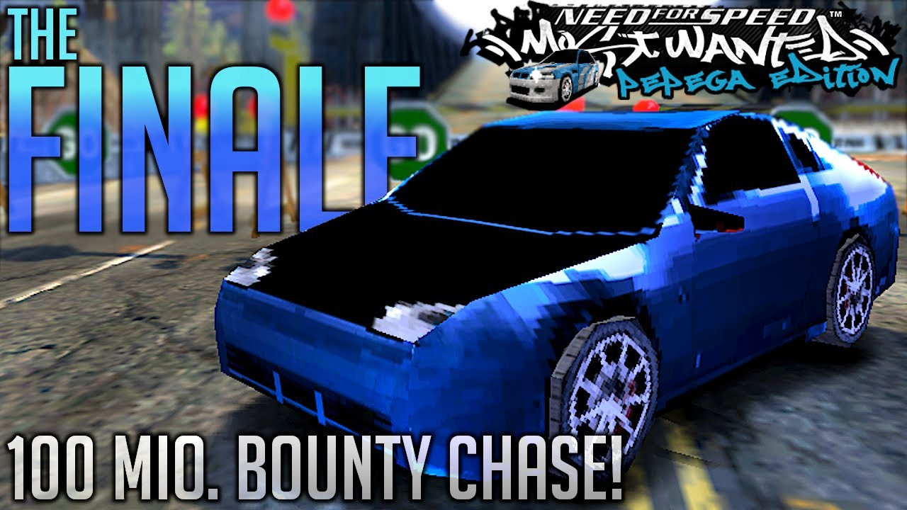 The FINALE of the Pepega Mod! 100 Mio. Bounty Chase! | NFS Most Wanted Pepega Edition | KuruHS