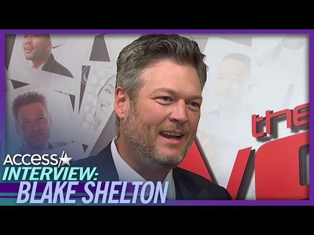 Blake Shelton On Gwen Stefani: 'It Still Shocks Me That I'm Engaged To Her'