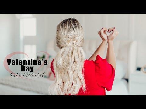Valentine's Day Hair Tutorial | Twist Me Pretty