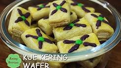 Resep Kue Kering Wafer - Biskut Lebaran