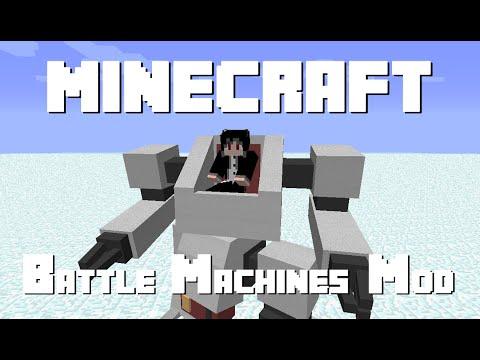 Battle Machines Mod [Mod Review] [EN] [1.7.10]
