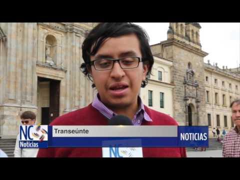 Bogotanos opinan del momento histórico que atraviesa Colombia.