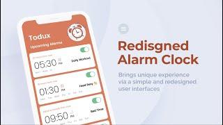 Todux - Android Alarm Clock App screenshot 2