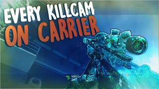 EVERY FAZE LINKZY TRICKSHOT KILLCAM ON CARRIER!