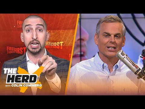 Nick Wright talks NFL overtime, Patrick Mahomes & team's approaches to free agency   NFL   THE HERD