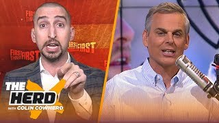 Nick Wright talks NFL overtime, Patrick Mahomes & team's approaches to free agency | NFL | THE HERD
