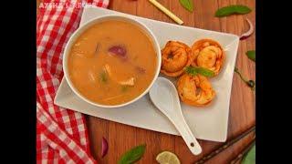 বাংলাদেশি রেস্টুরেন্ট স্টাইলে থাই স্যুপ || Bangladeshi Restaurant style Thai Soup || Thai soup