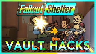 Fallout Shelter Lets Play | VAULT HACKS | Part 3 (Fallout Shelter 2016 PC Gameplay)