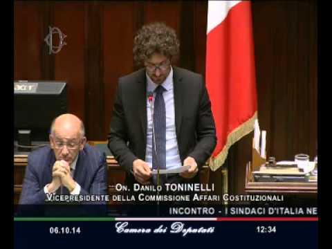 Roma - I Sindaci d'Italia nell'Aula di Montecitorio – Idee per il futuro del Paese (06.10.14)