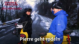 Türchen Nr. 20 – Pierre geht rodeln
