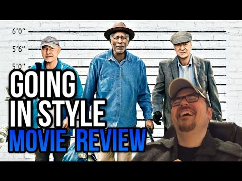 GOING IN STYLE (2017) | Movie Review | Grumpy Old Heist Men