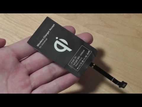 REVIEW: Universal MicroUSB Qi Wireless Charger Adapter (Receiver)