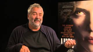 Luc Besson Interview - Lucy (Scarlett Johannson)