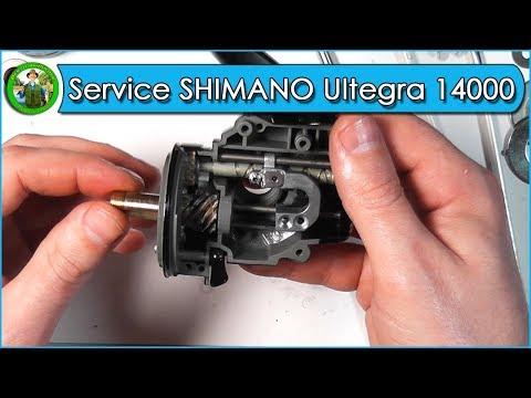 Service SHIMANO Ultegra 14000 XTB