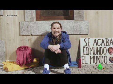 """Joaquín Reyes imita a Greta Thunberg: """"Luchemos juntos contra el cambio climático"""""""