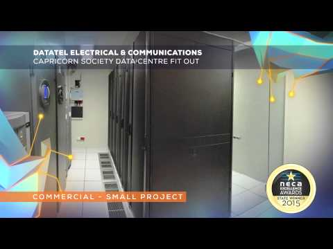 Datatel Electrical & Communications   Capricorn Society Data Centre Fit Out WIN