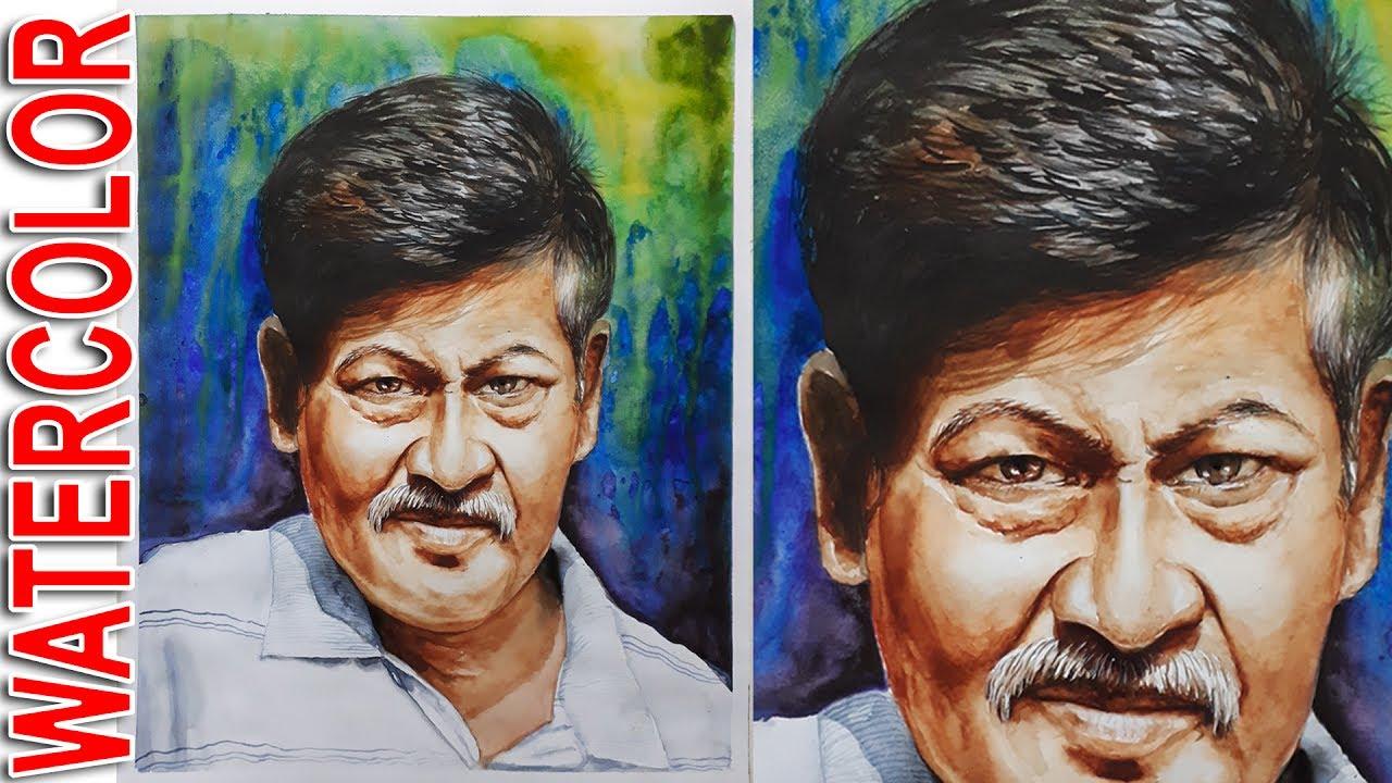watercolor portrait tutorial step by step how to paint portrait