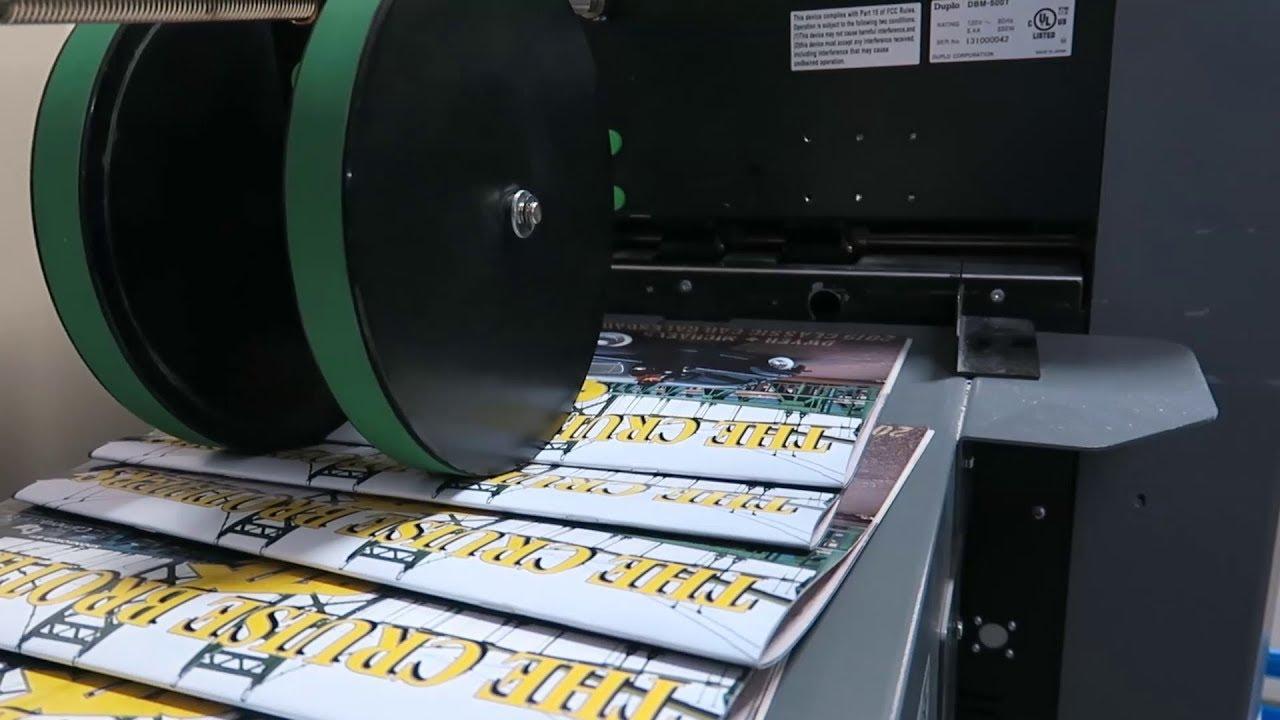 Printing the 2019 Dwyer & Michaels Car Calendar
