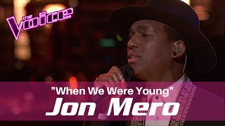 Jon Mero The Voice 2017 Playoffs 34 When We Were Young 34
