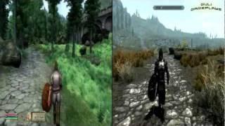 TES : Oblivion vs Skyrim