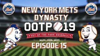 Out of the Park Baseball (OOTP) 19: New York Mets Dynasty - 2019-20 Offseason [EP15]
