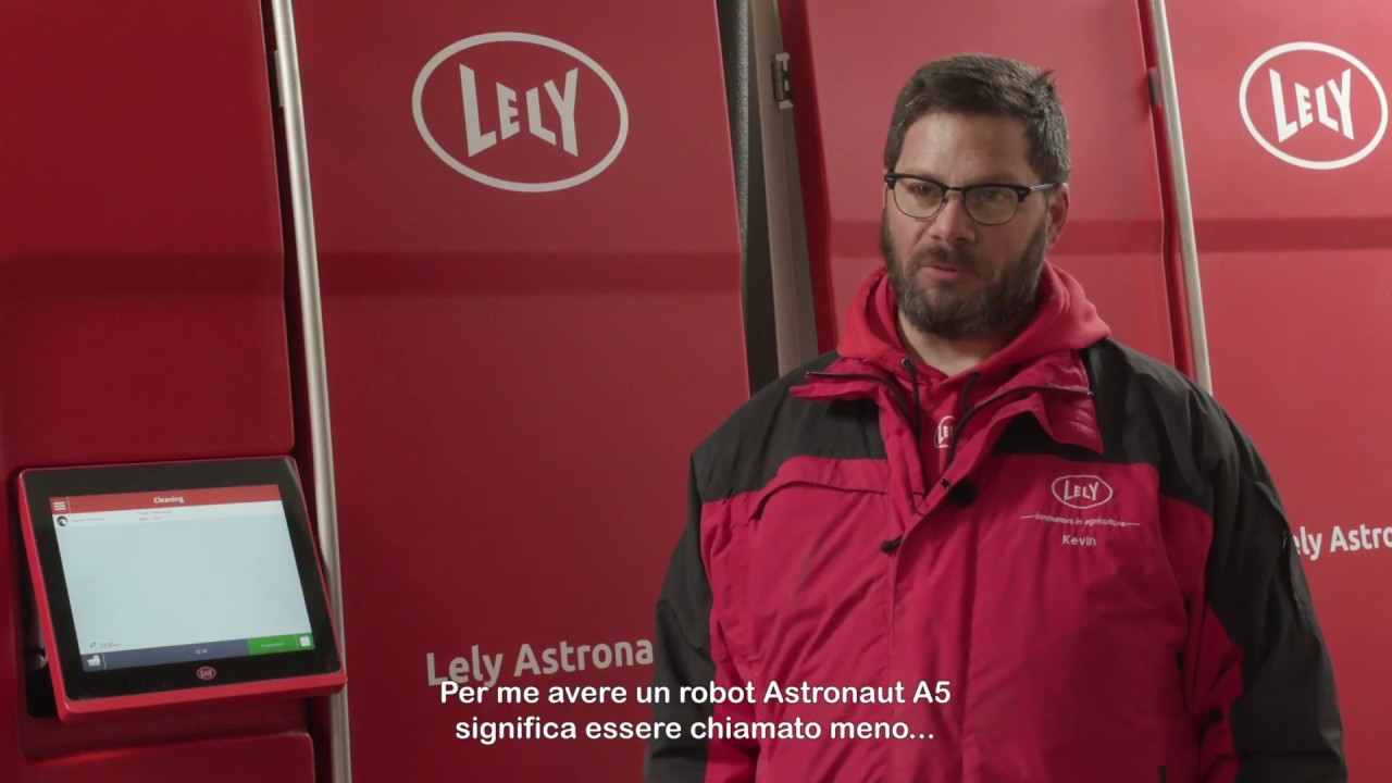 Lely Astronaut A5 - Service Compilation (Italiano)