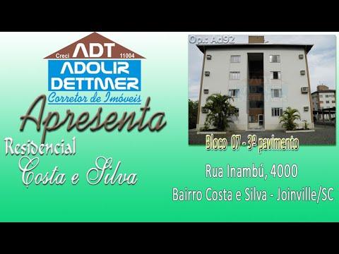 Apartamento Joinville Costa e Silva 2143007
