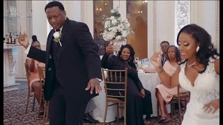 Epic Father Daughter Wedding Dance!!! wait for it ….  Flash Mob With Bridal Party