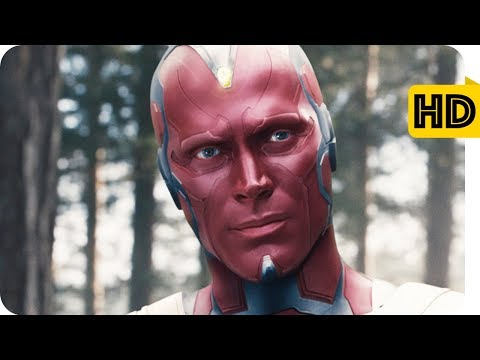 Vision Destroys Ultron | Avengers Age of...