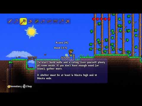 Terraria -- Xbox 360 Edition XBLA - HD Gameplay