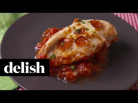 How To Make Pizza Chicken