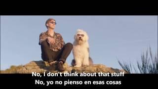 Don't matter now- George Ezra // Lyrics video, traducida con subtítulos al español