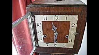 1920's To 1930's Grandmother Clock