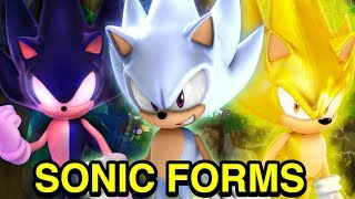 My Top 5 Sonic the Hedgehog Forms - NewSuperChris