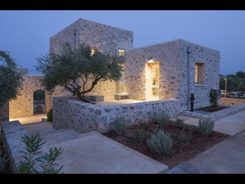 Architect's Villa, stone residence located in Mani, Peloponnese, Greece, designed by HHH Architects.